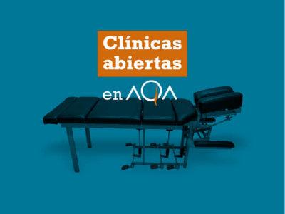 Clinica Abierta: examiná tu columna y la de tu familia en AQA